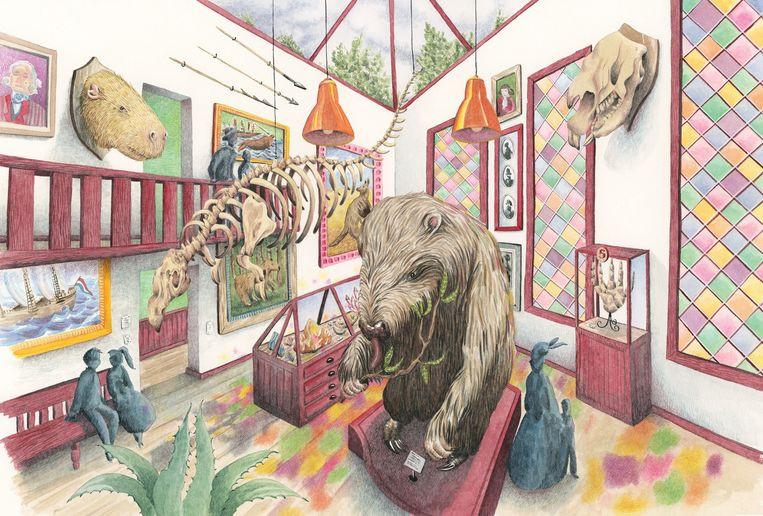De eenhoorn, uitgestorven, fantastische dieren die ooit leefden, pechvogels, informatieboek, kabinet, knuffelbeesten,  lotte stegeman, marieke nelissen