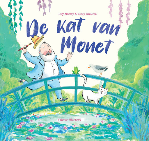 Kat van Monet, boek Lily Murray & Becky Cameron, Voorpagina
