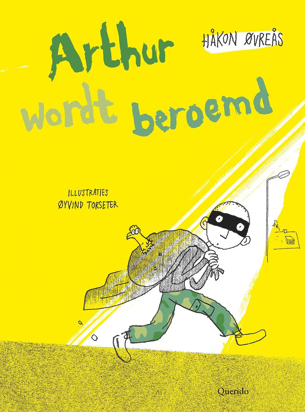Boek Arthur wordt beroemd