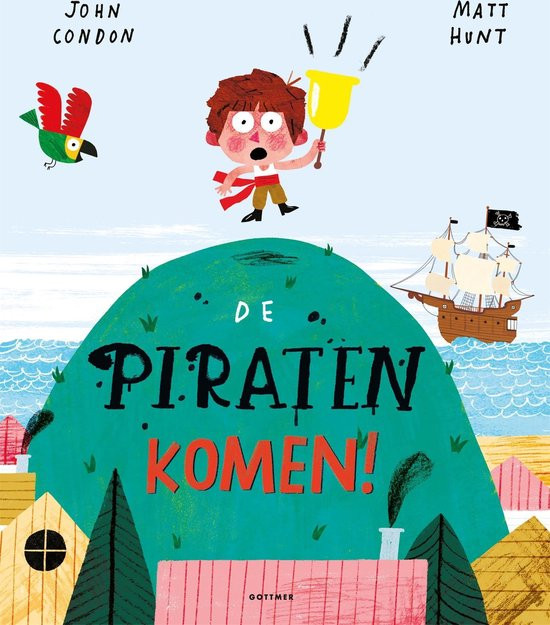 Prentenboek De Piraten Komen