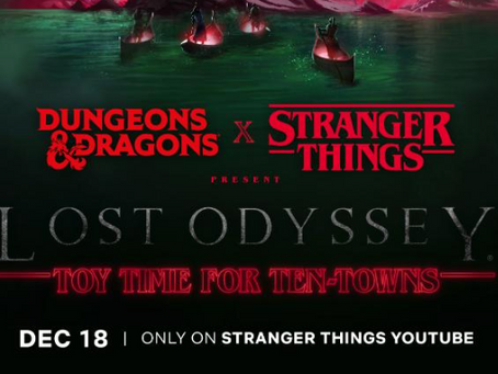 Stranger Things Makes a Save For Christmas