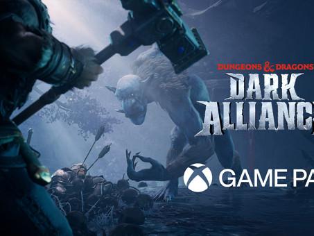 Dark Alliance Hits Xbox Game Pass Day One