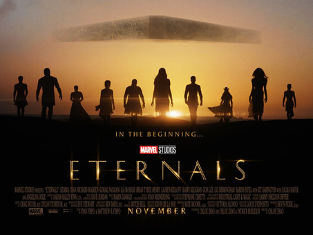 Eternals Trailer Drops