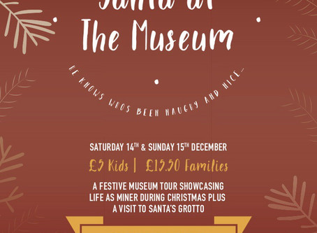 Family Events!         Santa at SWMM!