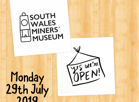 If your looking for something to do tomorrow why not visit our wonderful Museum!We will be Open Mond