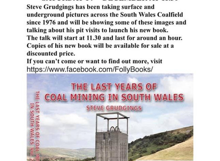 BOOK LAUNCH HERE AT SWMM ......................Steve Grudgings has been taking surface and undergrou