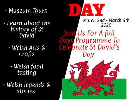 St David's Day for all Schools & Education Groups 🏴Would your School or Group  like