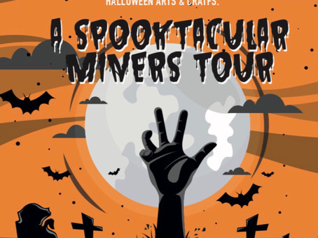JOIN US FOR A SPOOKY SPECTACULAR HALLOWEEN ! 👻🧙🏻♂️ Saturday October 26th 2019🎃11 am until 2 pm