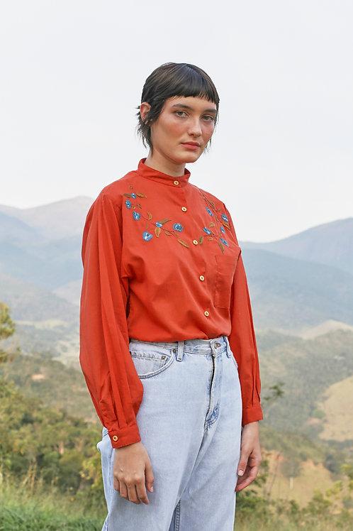 Camisa Terracota Clitória