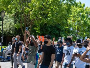 5000-man march - Richmond