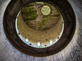 circles inside a tower