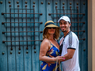 Old San Juan couple