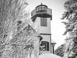 Shipcarpenter Square lighthouse