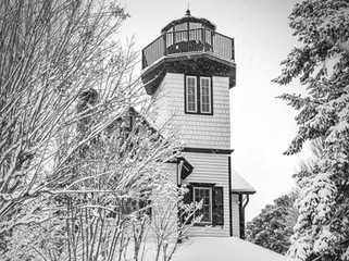 Shipcarpenter Square lighthouse