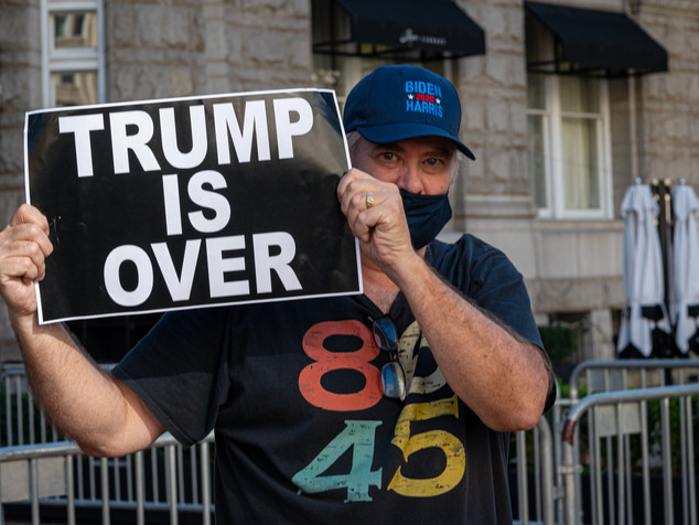 Trump is over