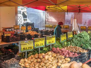 NYC farmer's market