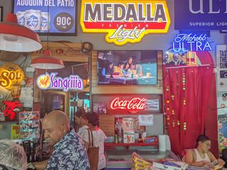 local bar in San Juan