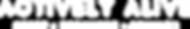 Actively Alive Logo white (300dpi 28cm w