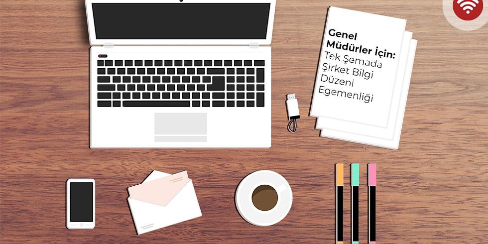 Genel Müdürler İçin | Tek Şemada Şirket Bilgi Düzeni Egemenliği