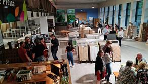Betriebs-besichtigung Toms Wood Depot