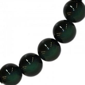 Bracelet en obsidienne oeil céleste 10 mm
