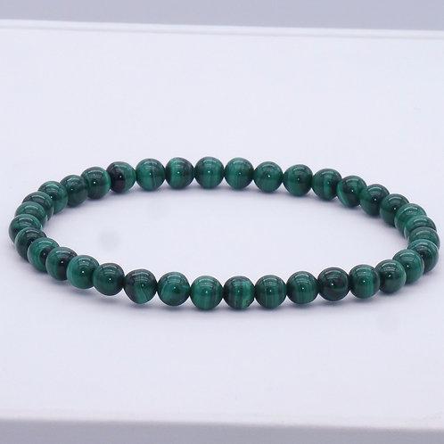 Bracelet en malachite 21 cm