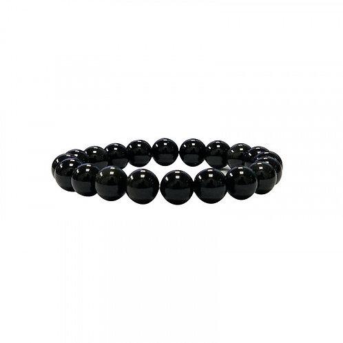 Bracelet en obsidienne oeil céleste 6 mm