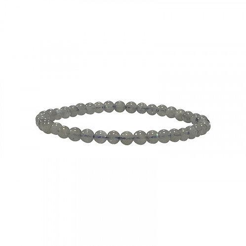Bracelet labradorite 4mmAA