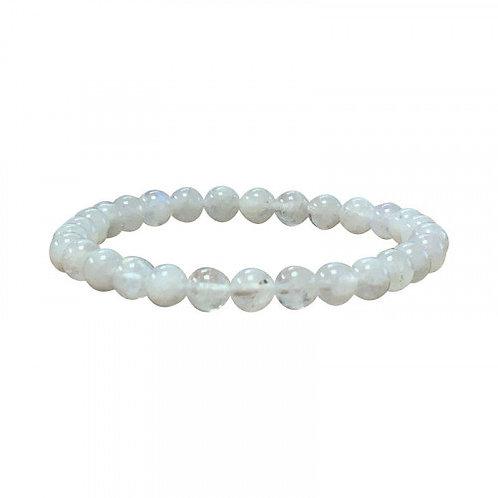 Bracelet en pierre de lune 6 mm