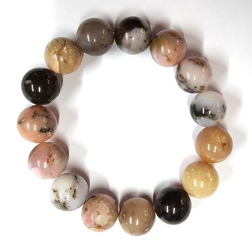 Bracelet en opale des andes 14 mm