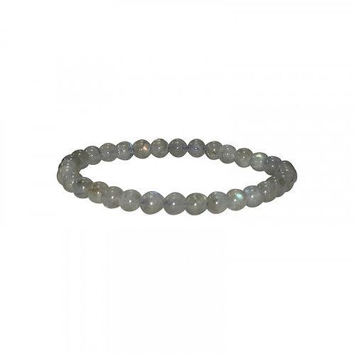 Bracelet labradorite 6mmAA