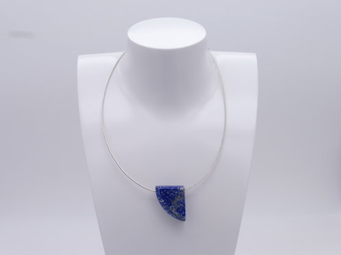 Collier pendentif en lapis lazuli
