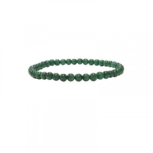 Bracelet en malachite 4 mm