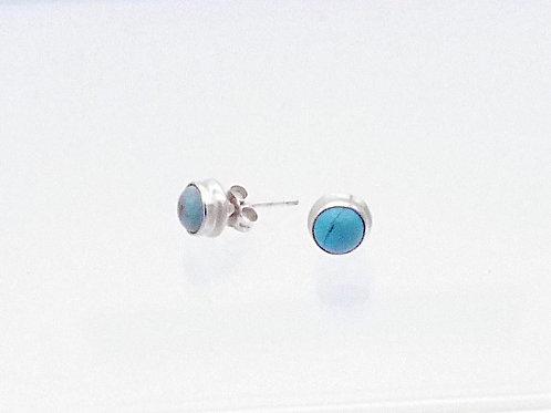 Boucle d'oreille en turquoise