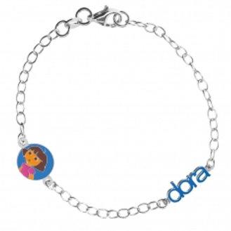 "bracelet en argent ""Dora"""