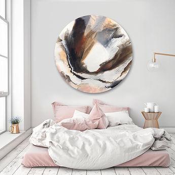 Round Resin Artwork