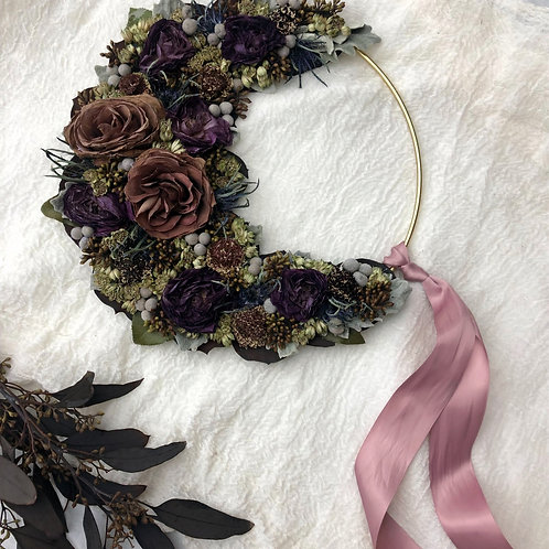 Floral Moon Bouquet Upcycling
