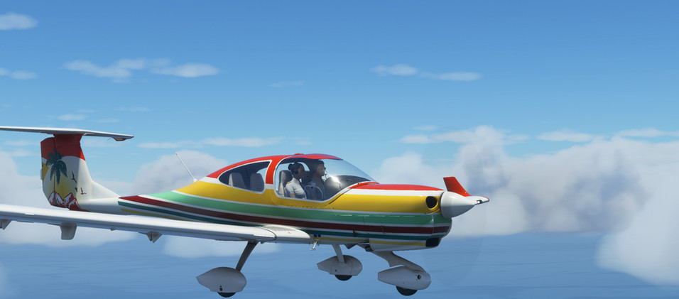 Diamond DA40 Retro Livery