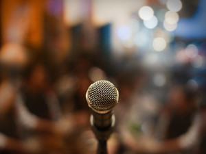 Sound Check - And the Nerve of Public Speaking
