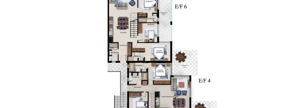 2) TYPE E-F FIRST FLOOR - SEA MAGIC ROYA