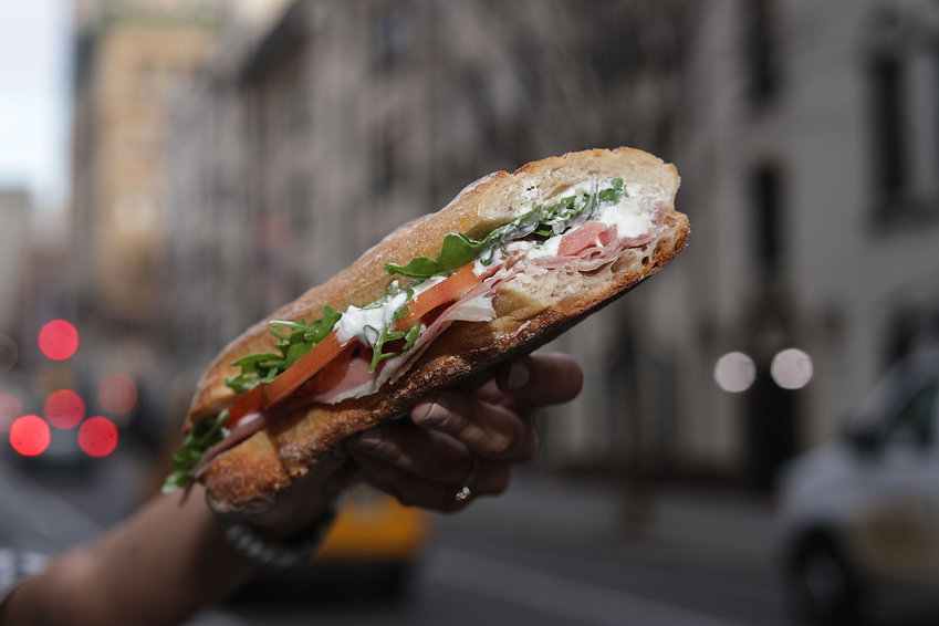 Burrata Sandwich