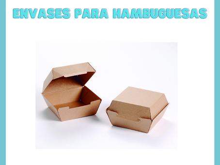 ENVASES PARA HAMBURGUESAS