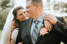 Wedding in Cheyenne Wyoming at the botanical gardens