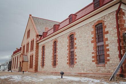 Territorial Prison wedding venue near Laramie Wyoming