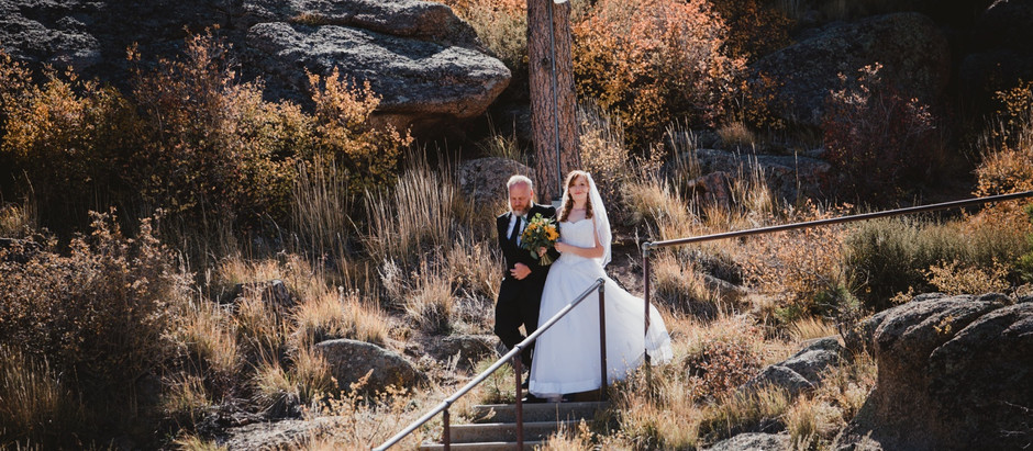 Kayla + Conner's Wedding at Curt Gowdy Amphitheater and Fox Run in Laramie Wyoming