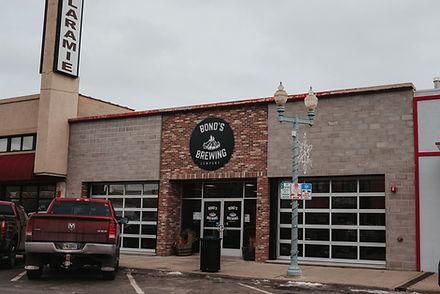 Bonds Brewery wedding venue near Laramie Wyoming