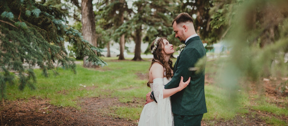 Tori + Dustin's wedding day at Ivinson Mansion in Laramie, Wyoming