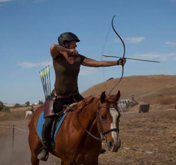 Hilary Merrill of The California Centaurs