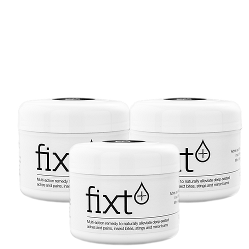 fixt Cream Gel 125ml x 3