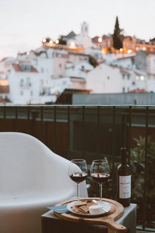 Catalonia red wine